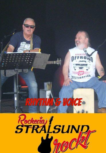 RHYTHM & VOICE – Musikgeschichte live